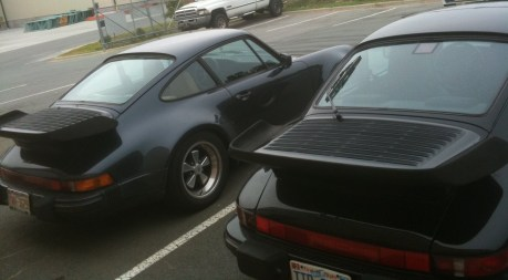 Black 911s with Wings