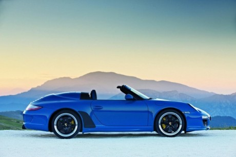 2011 Porsche 911 Speedster Side Profile