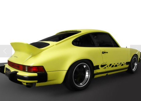 Yellow vintage Carrera