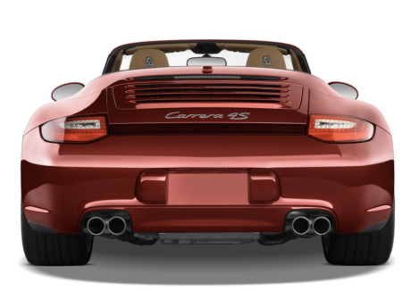 Rear Shot of Carrera