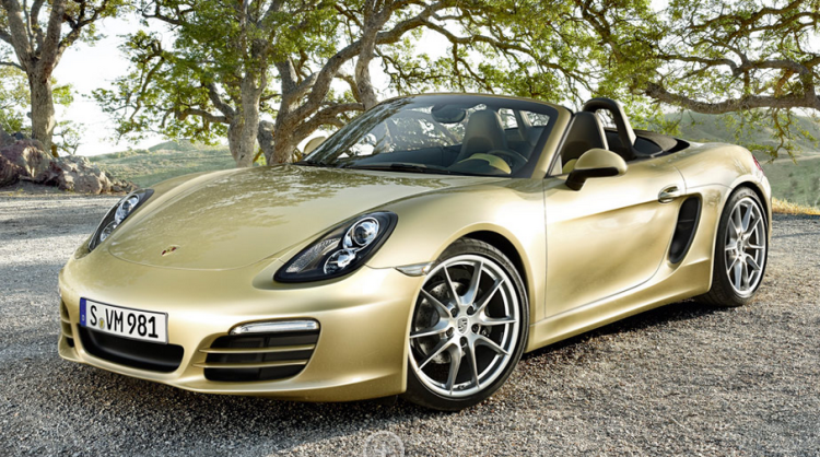 Gold Boxster